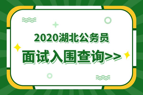 2020武汉公务员面试资格复审公告